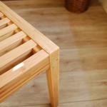 竹でできたサイドチェア