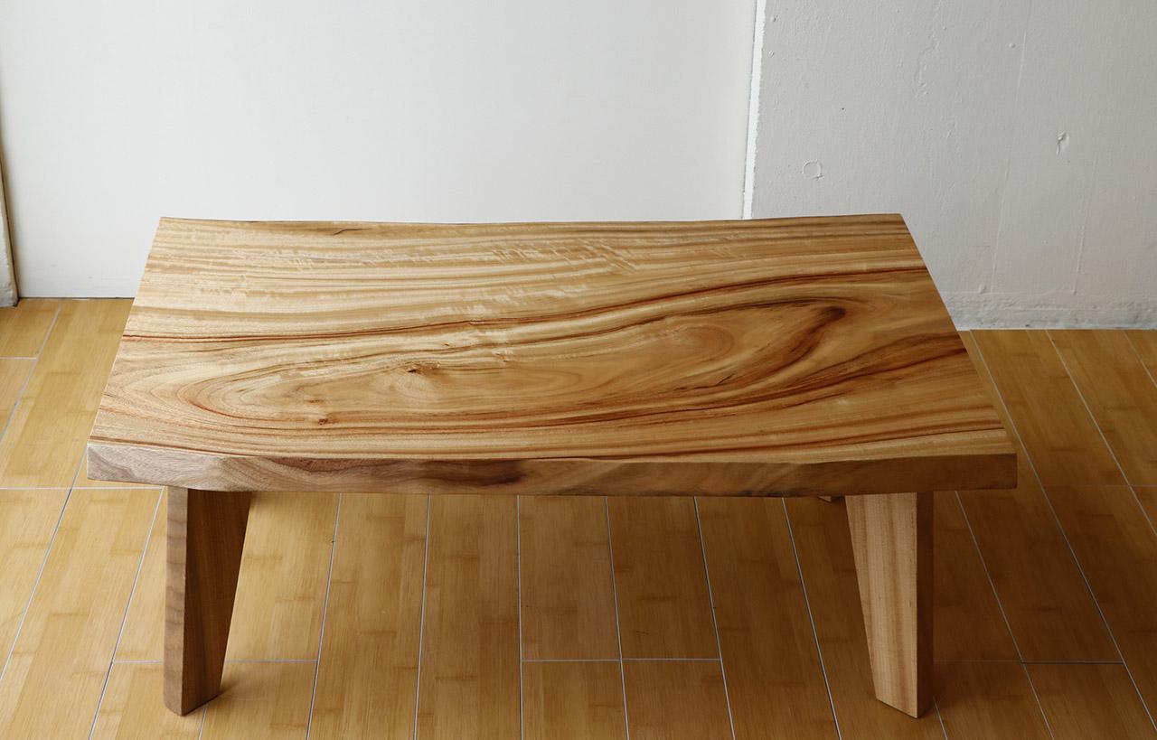 楠の一枚板のリビングテーブルTA2749_1